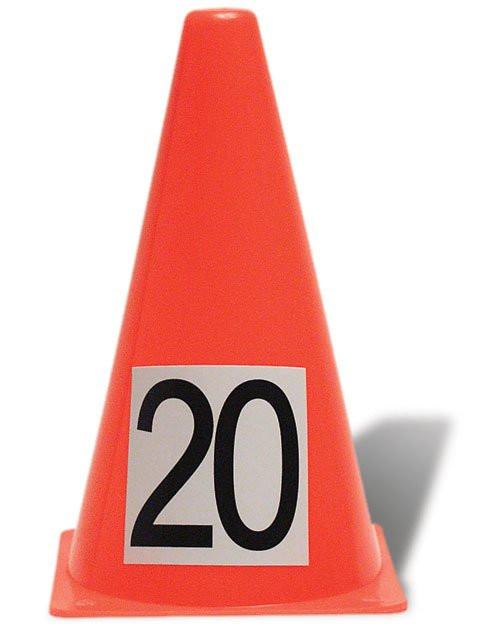 Lightweight 9 inch Cones