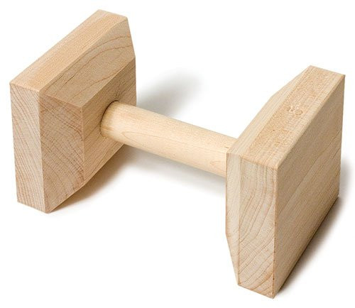 Regular Hardwood Dumbbells