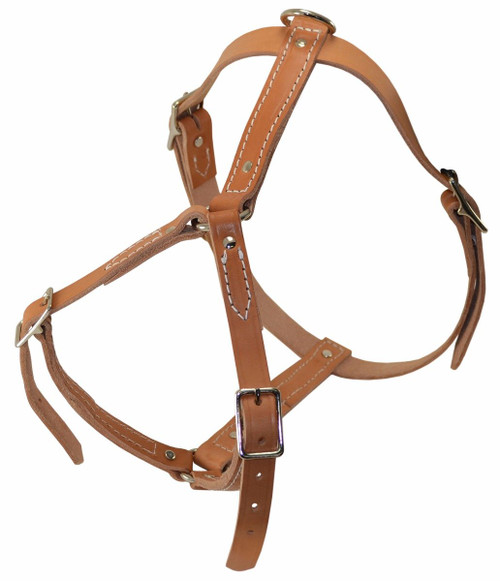 Leather Tracking Harness
