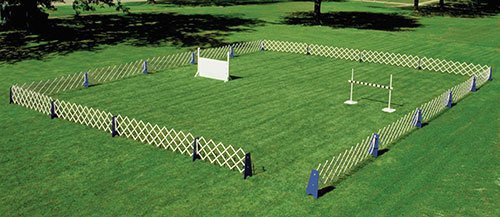 Complete Show Rings with Wood Gates