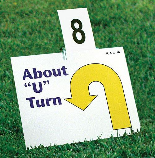 Number Set for Rally Sign Holder