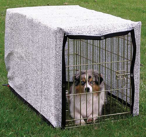 Silver Shade Mesh Exercise Pen Covers