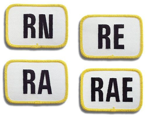 Rally Degree Patches