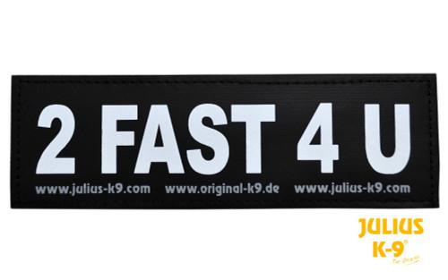 Julius K9 2 Fast 4 U Patch