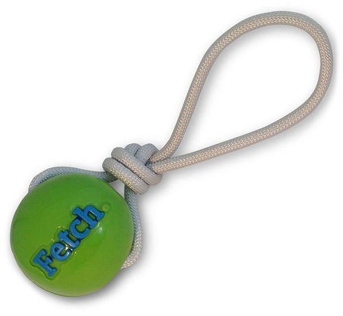 Orbee Tuff Fetch Ball with Rope