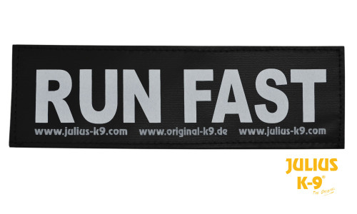 Julius K9 Run Fast Patch