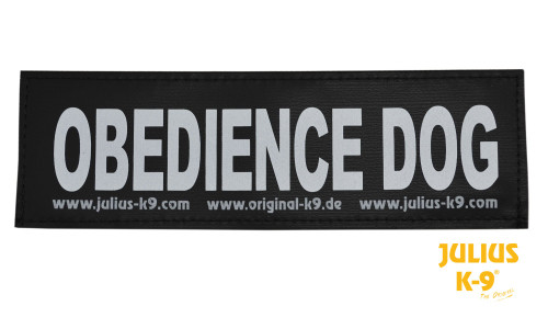 Julius K9 Obedience Dog Patch