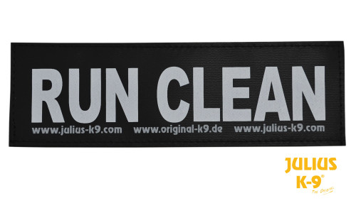 Julius K9 Run Clean Patch
