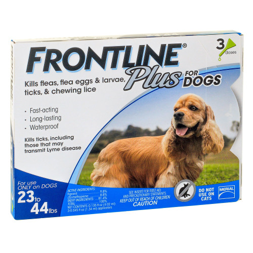 Frontline Plus Flea Control