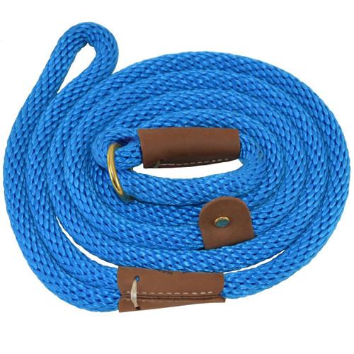 Blue British Style Slip Leash