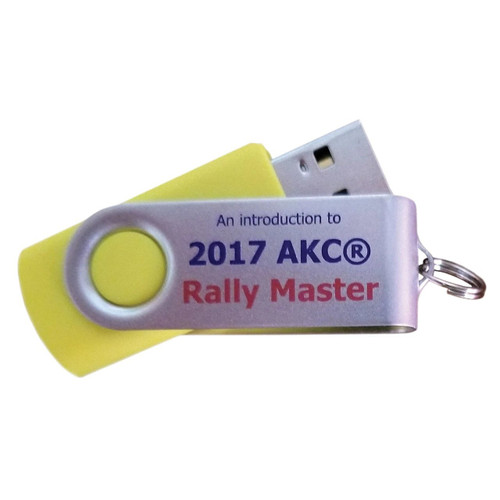 2017 AKC Rally Master Signs USB Flash Drive