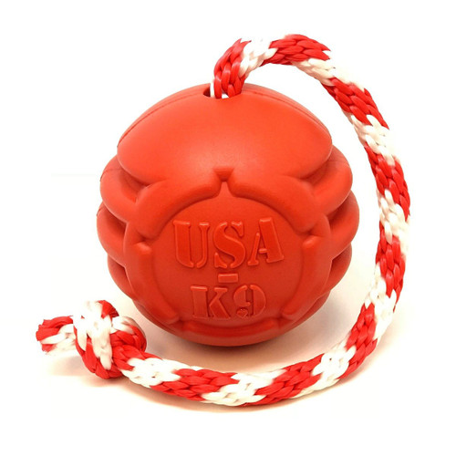 USA K9 Stars and Stripes Ultra-Durable Dog Toy