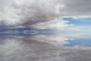 Sel Miroir in Bolivia - The Salt lake is at the bottom ;)