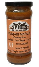 Punjabi Masala Cooking Sauce 350ml Image by SPICESontheWEB