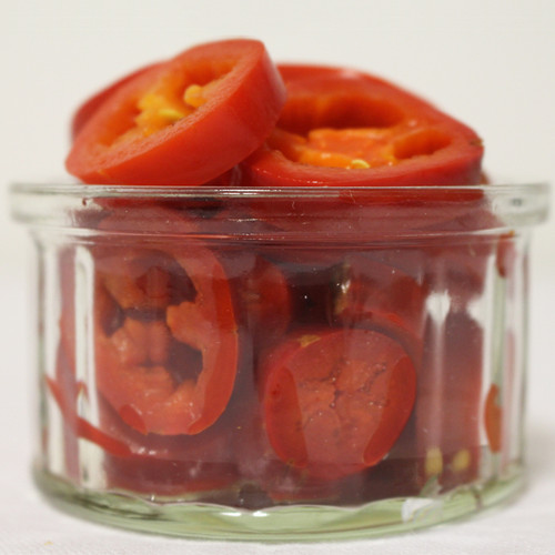 Red Jalapeno Nacho Slices 3kg Image by SPICESontheWEB