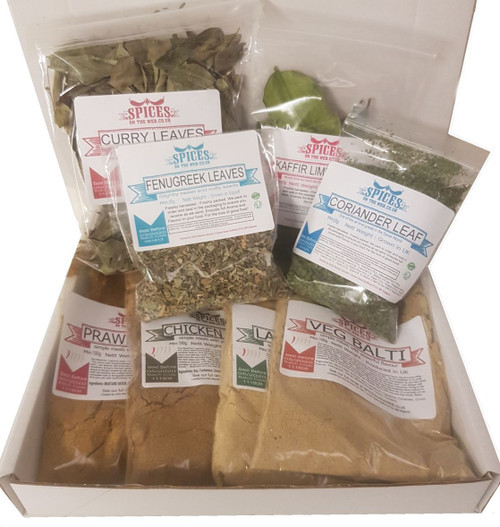 Balti Seasoning Pack by SPICESontheWEB