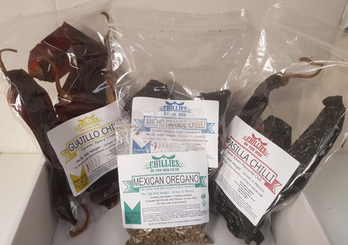 Holy Trinity of mexican chilli image by Chillies on the Web