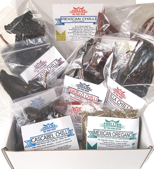 Mexican Chilli Pack Image by Chillies on the Web