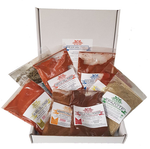 Mexican Chilli Powder Pack of Chilli Powder by Chillies on the Web