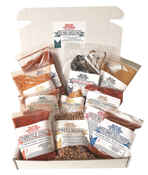 Tex Mex BBQ Spice Pack Image by Spices on the Web