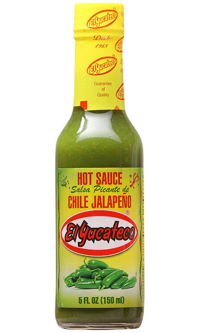 El Yucateco Jalapeno Sauce 150ml Image by CHILLIESontheWEB