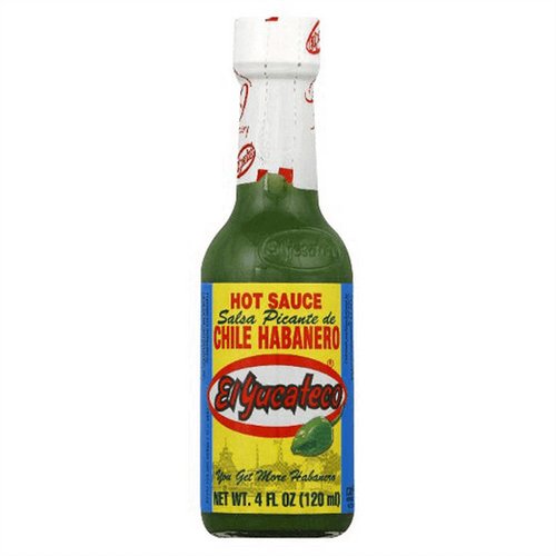 Green Habanero Sauce 120ml by El Yucateco Image by CHILLIESontheWEB