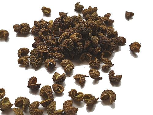 Szechuan Green Peppercorns Image by SPICESontheWEB