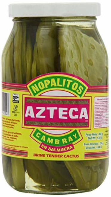 Cactus Slices - Azteca Cambray En Salmuera 460g Image