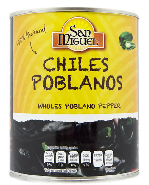 Poblano Chiles by San Miguel 780g Image