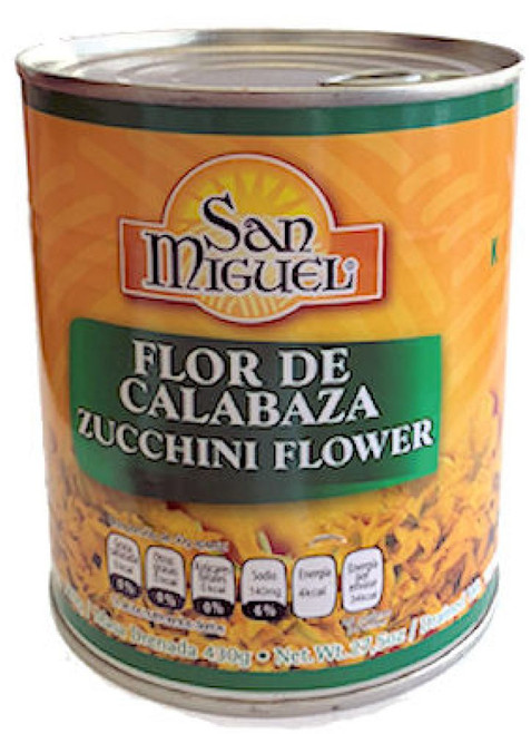 Courgette Flowers - Flor De Calabraza by San Miguel Image