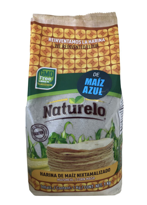 Naturelo Harina De Maiz Azul (Blue Corn) Flour Image