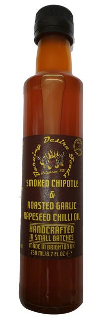 Smokey Flavoured Chilli Oil 250ml Image by CHILLIESontheWEB