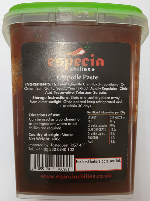 Chipotle Chilli Paste Image by CHILLIESontheWEB