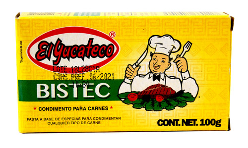 Bistec Paste by El Yucateco 100g Image by SPICESontheWEB