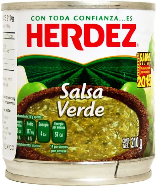 Herdez Salsa Verde 210g image by CHILLIESontheWEB