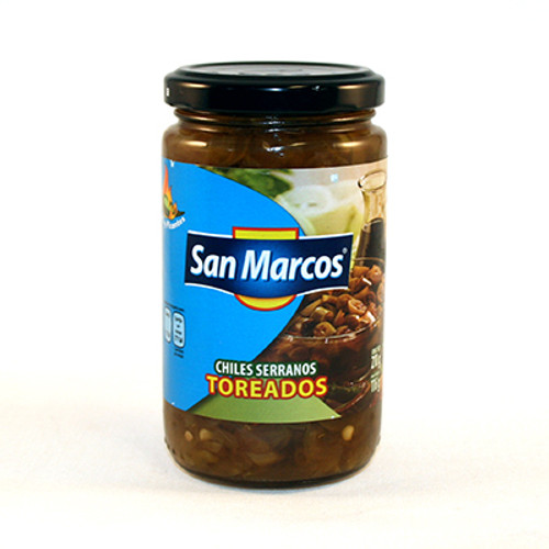 Serranos Toreados 210g by San Marcos Image by SPICESontheWEB