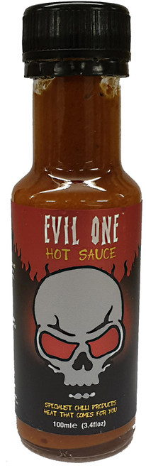 Evil One Hot Sauce 100ml by Grim Reaper Image