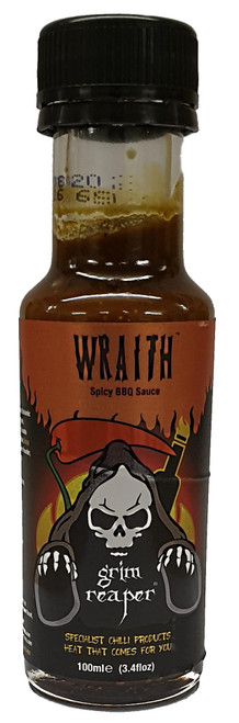 Grim Reaper- Wraith Spicy BBQ Sauce and Marinade 100ml Image