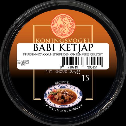 Koningsvogel Babi Ketj Spice Paste 100g Image