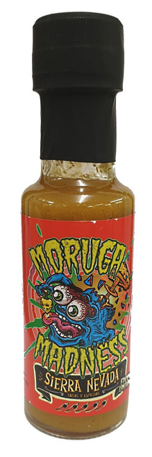 Moruga Madness Chili Sauce 125ml  Image by SPICESontheWEB