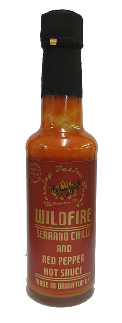 Wildfire Serrano Chilli Sauce 148ml Image by SPICESontheWEB