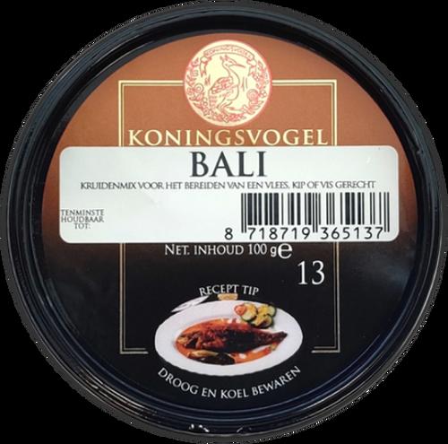 Koningsvogel Bali Spice Paste 100g Image