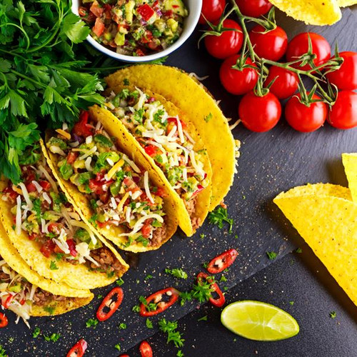 """Taco Shells 5"""" x 20 Image by SPICESontheWEB"""