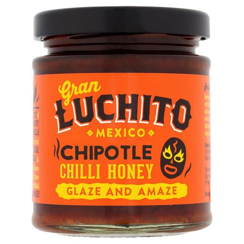 Chipotle Chilli Honey 250g by Gran Luchito Image