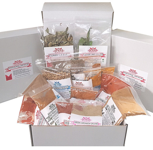 Indian Spice Box Display Image by Spices on the Web