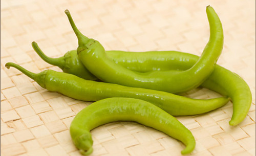Golden Greek Pepperoncini Chilli Image, Chillies on the Web
