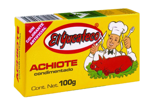 El Yucateco Achiote Paste 100g Image, Spices on the Web