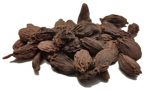Cardamom Black Pods from India Image by Chillies on the Web