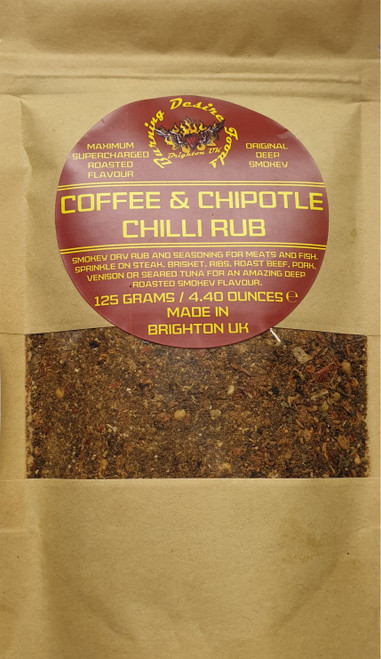 Chilli Coffee Blend Rub Image by CHILLIESontheWEB