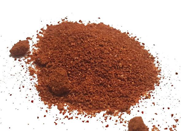 Smoked Naga Chilli Powder Image by CHILLIESontheWEB